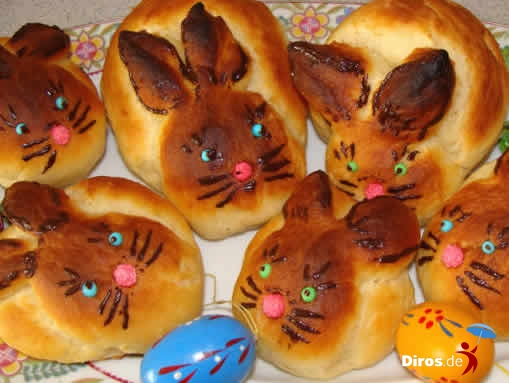 Зайчата - булочки